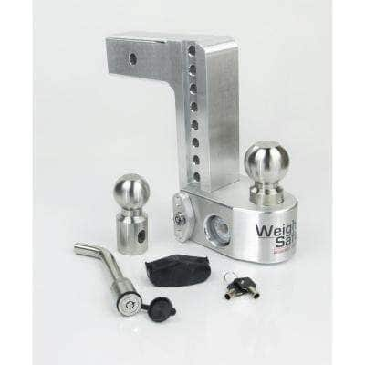 8 in. Drop Adjustable Class V Ball Mount