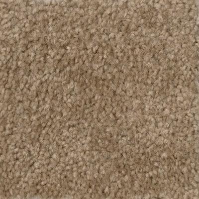 Hot Shot II - Color Tuscan 12 ft. Texture Beige Carpet