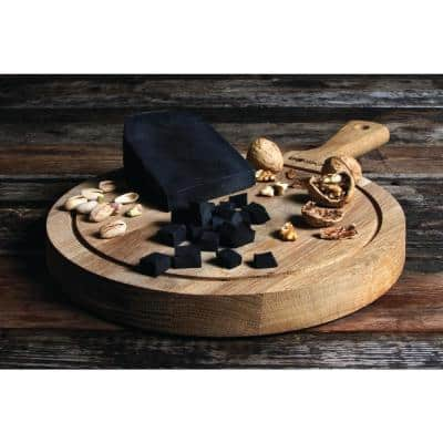 Large Oak Round Cheese and Tapas Board
