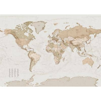Earth Map Wall Mural