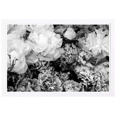 Dark Flora Encore' Framed Nature Art Print 13 in. x 19 in.