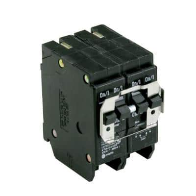 BR 2-20 Amp 2 Pole BQC (Common Trip) Quad Circuit Breaker