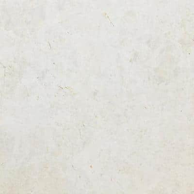 Summit Ivory 17.99 in. x 17.99 in. Honed Stone Look Marble Floor & Wall Tile (2.247sq. ft./each)