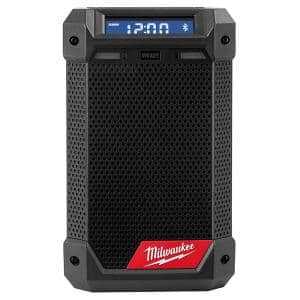 M12 12-Volt Lithium-Ion Cordless Bluetooth/AM/FM Jobsite Radio with Charger