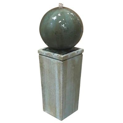 Dorset Cement Sphere Fountain