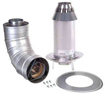 3 in. x 5 in. Stainless Steel Cone Termination Kit