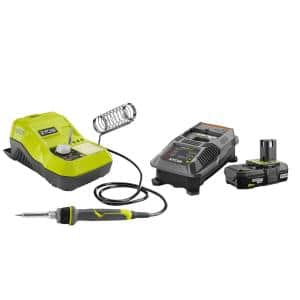 18-Volt ONE+ Hybrid Soldering Station with 2.0 Ah Battery and Charger Kit