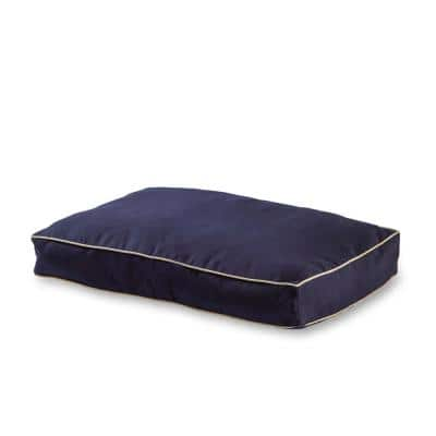 Casey Extra Small Rectangle Indoor/Outdoor Navy Dog Bed