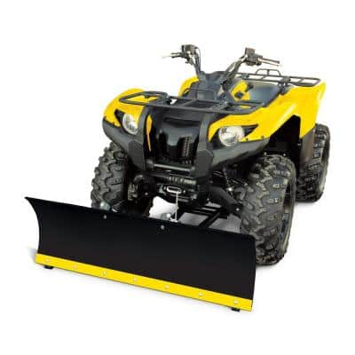 50 in. x 16 in. Universal Snow Plow System for ATVs