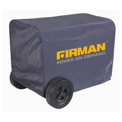 Large Protective Portable Generator Cover in Black