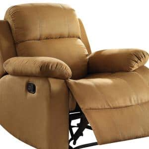 Parklon Brown Microfiber Recliner