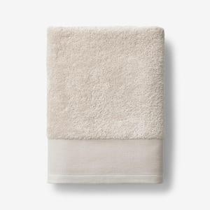 Organic Pumice Solid Cotton Bath Towel