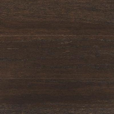 Wire Brushed Strand Woven Prescott 3/8 in. T x 5-1/8 in. W x 72 in. L Engineered Click Bamboo Flooring
