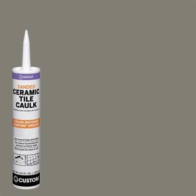 Polyblend #165 Delorean Gray 10.5 oz. Sanded Ceramic Tile Caulk