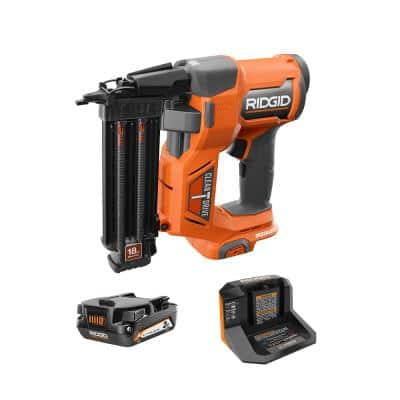 18-Volt Brushless Cordless 18-Gauge 2-1/8 in. Brad Nailer with CLEAN DRIVE Technology with (1)2.0 Ah Battery and Charger