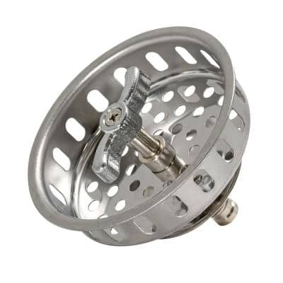 Replacement Stainless Steel Strainer Basket with Post