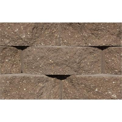 Cottage Stone 4 in. H x 12 in. W x 8.5 in. D Brown Concrete Garden Wall Block (96-Pieces/31.68 sq. ft./Pack)