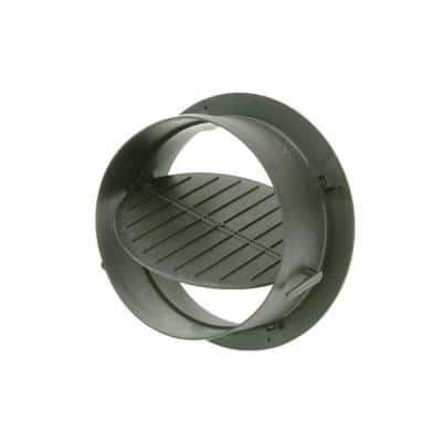 8 in. Take Off Start Collar with Damper for HVAC Duct Work Connections