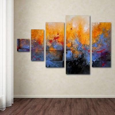 My Sanctuary by CH Studios 5-Panel Wall Art Set