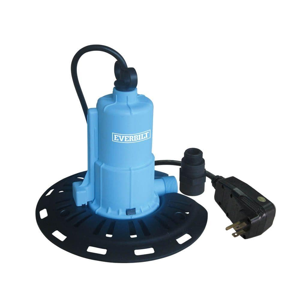 Everbilt 1 8 Hp Pool Cover Pump Pc00801g The Home Depot