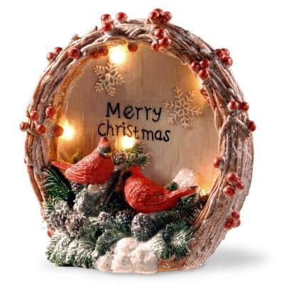 9 in. Lighted Christmas Decor Piece