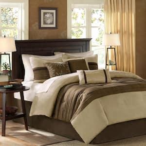 Teagan 7-Piece Natural Queen Comforter Set