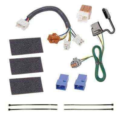 3 in. 0 ft. T-1 Connector Assembly with Jumper Relay Cable Harness For Nissan