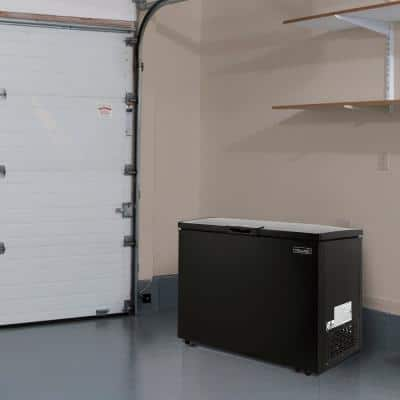 6.7 cu. ft. Compact Chest Freezer in Black