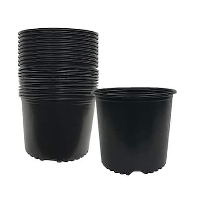 3 Gal. Plus Plastic Nursery Pots 3.58 Gal/13.55 l/ 827 cu. in. (24-Pack)