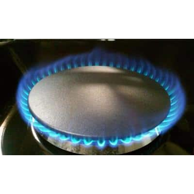Pre-Converted Propane 36 in. Gas Cooktop in Stainless Steel with 6-Burners