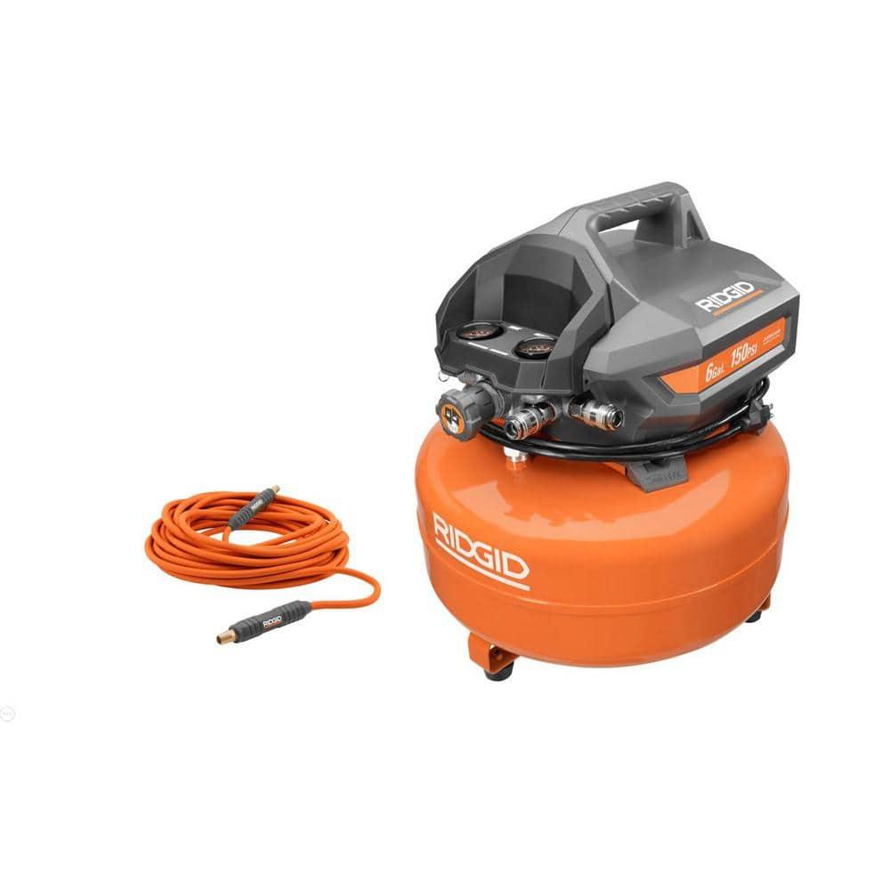 Ridgid Six Gallon Electric Pancake Air Compressor