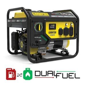 4550/3650-Watt Recoil Start Gas and Propane Dual Fuel Powered RV Ready Portable Generator