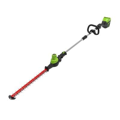 PRO 20 in. 60-Volt Battery Cordless Pole Hedge Trimmer (Tool-Only)