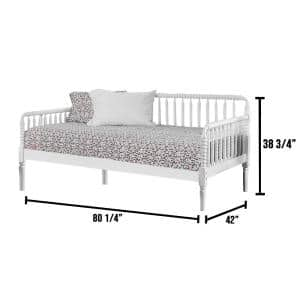 Linda Twin Daybed in White
