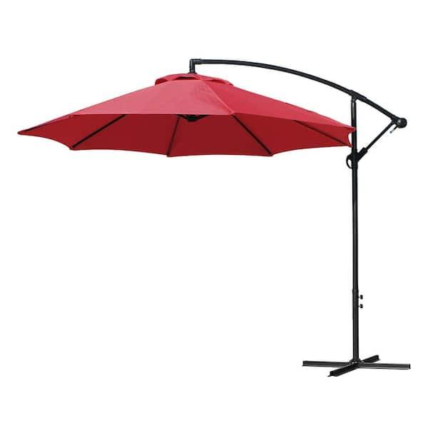 Artpuch Offset Umbrella 10 Ft, 10 Ft Cantilever Patio Umbrella