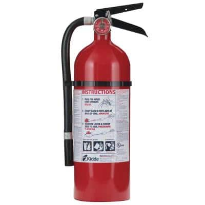 Pro 2-A:10-B:C Fire Extinguisher Bundle with Additional Mounting Bracket