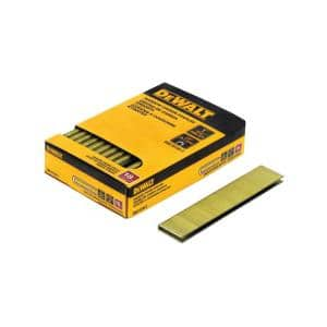 1/4 in. x 1 in. 18-Gauge Glue Collated Crown Staple (2500-Pieces)