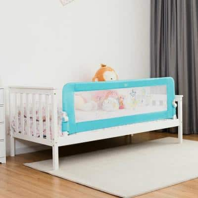 69 in. Breathable Baby Toddlers Bed Rail Guard