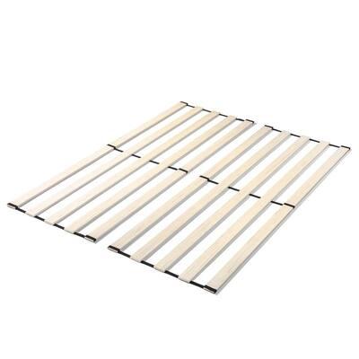 Vertical Wood Support Slats for King Bed Frame