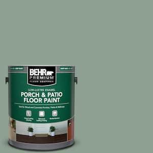 1 gal. #ECC-52-3 Hillside View Low-Lustre Enamel Interior/Exterior Porch and Patio Floor Paint