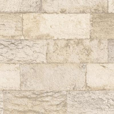 Organic Stone Vinyl Strippable Roll (Covers 55 sq. ft.)
