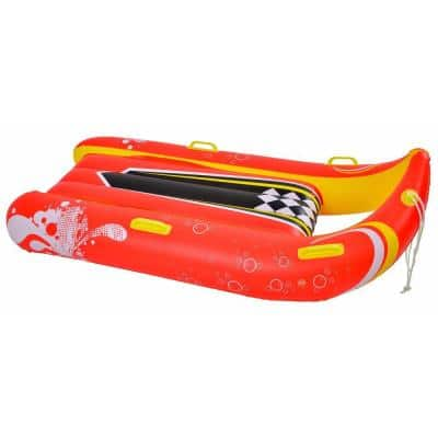 Power Glider 57 in. 2-Person Inflatable Snow Sled