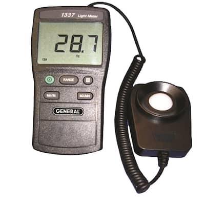 2-Piece Digital Light Level Meter
