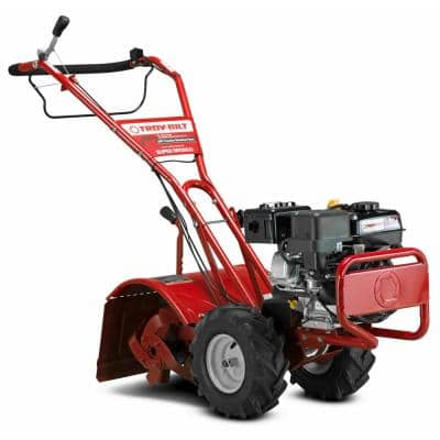 Super Bronco 16 in. 208 cc OHV Engine Rear Tine Counter Rotating Gas Garden Tiller with Power Reverse