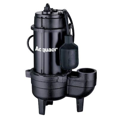 1/2 HP Cast Iron Sewage Effluent Pump