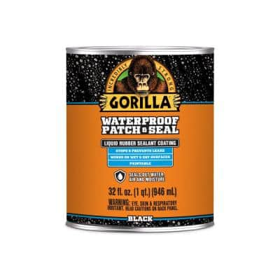 32 oz. Black Waterproof Patch and Seal Liquid (6-Pack)