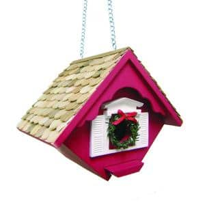 Christmas Wren Cottage (Red)