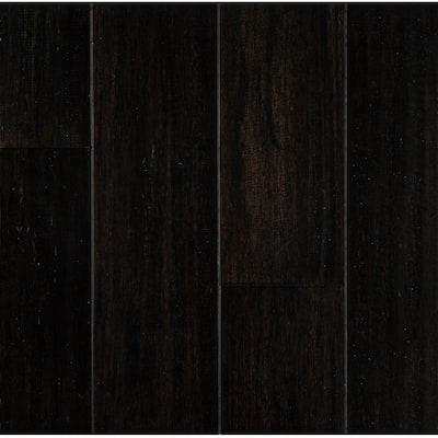 0.28 in. T x 5.12 in. W x 36.22 in. L Dark Night Waterproof Engineered Strand Bamboo Flooring (11.59 sq. ft./case)