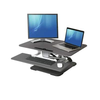 airLIFT 30.7 in. Rectangular Black Standing Desks with Adjustable Height