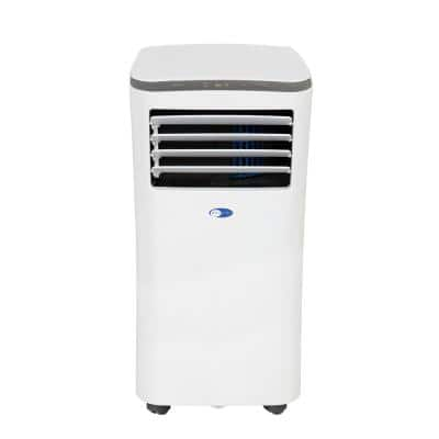 Compact Size 10000 BTU Portable Unit Air Conditioner with dehumidifier 3M and SilverShield Filter